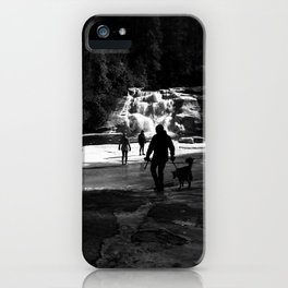 Out on the Ice iPhone Case