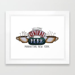 Central Perk Framed Art Print
