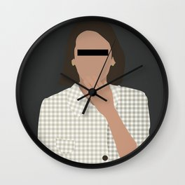Yeon kyo Parasite movie  Wall Clock