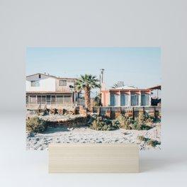 Residential, Salton Sea Beach Mini Art Print