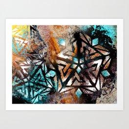 Peak Ascension Art Print