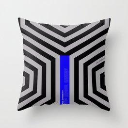 Impossible Symmetry - Cebra Throw Pillow