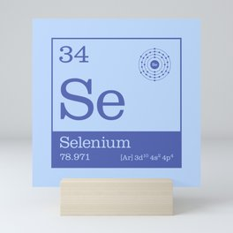 Periodic Elements - 34 Selenium (Se) Mini Art Print
