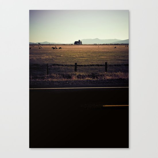 BACK AND SPINE. Canvas Print