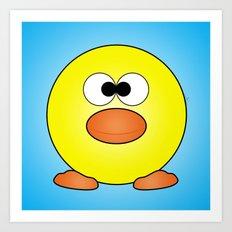 Duckie Art Print