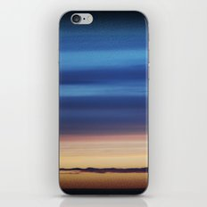 Blue Streaky Clouds iPhone & iPod Skin
