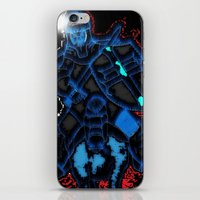 knight iPhone & iPod Skins featuring Knight by Dmarmol
