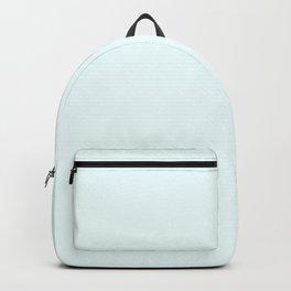 Cheap Solid Light Azure Blue Color Backpack