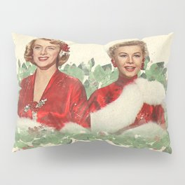 Sisters - A Merry White Christmas Pillow Sham