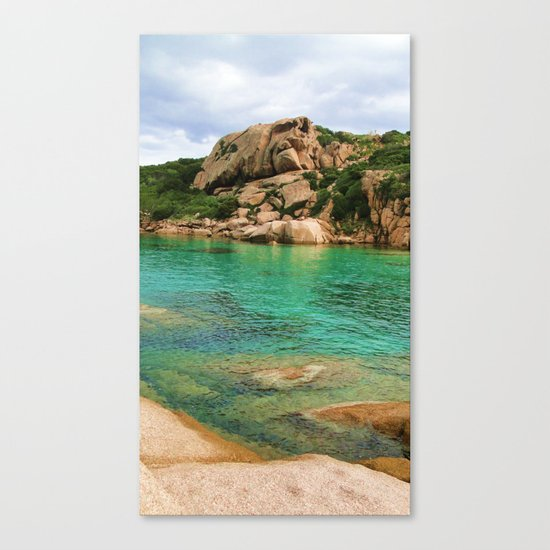 Sardgna  Canvas Print