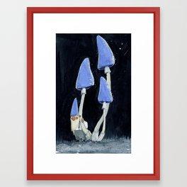 The Mushroom Gnome Framed Art Print