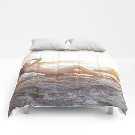 Sunset Siren Comforters