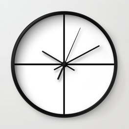 MOSH Plus Wall Clock