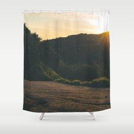 Sunset Trail Shower Curtain