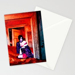 The Woman in the Dunes Stationery Cards