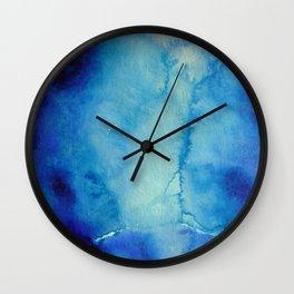 Endless Blue Wall Clock