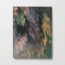 Old Tree's Spring Emerald Metal Print