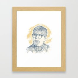 OH FUDGE RALPHIE! Framed Art Print