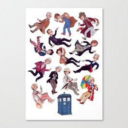 Who's who Canvas Print