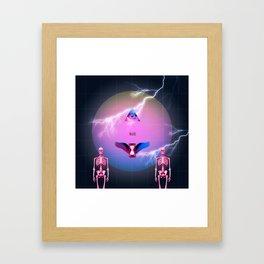The new world order Framed Art Print