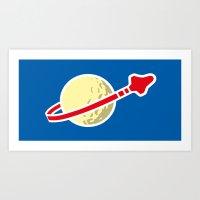 Space 1980 Art Print