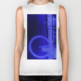 London Eye and The Southbank Biker Tank