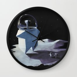 Space robot Wall Clock