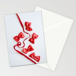 Ribbon and Bows Stationery Cards