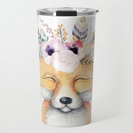 Forest Fox by Nature Magick Travel Mug
