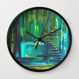 Ascension to Emerald City Wall Clock
