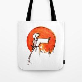 Little Miss Samurai Tote Bag