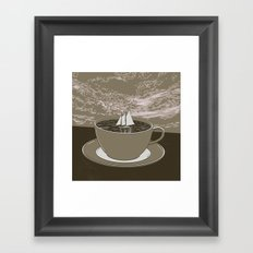 GOOD MORNING 07 Framed Art Print
