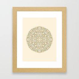 Sunshine Floral Framed Art Print