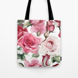 Big Rose Boooyah! Tote Bag