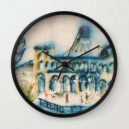 Santa Monica Pier Wall Clock