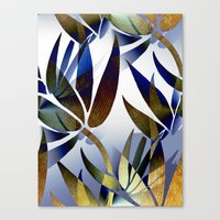 bamboo Canvas Prints featuring Bamboo by Artisimo