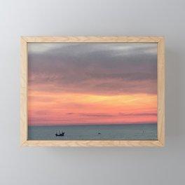 Sunset Treasure Framed Mini Art Print