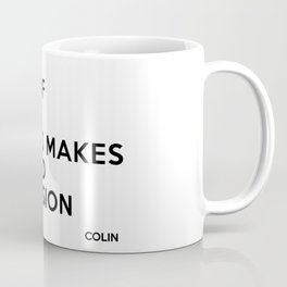 A bit of Monet always makes a good impression Coffee Mug