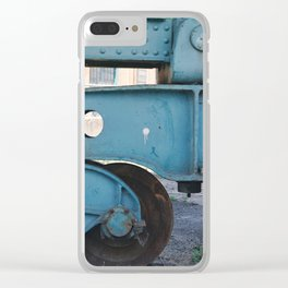 industrial pastels 3 Clear iPhone Case