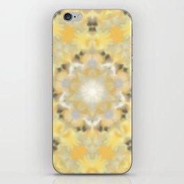 Orange and Yellow Kaleidoscope 4 iPhone Skin