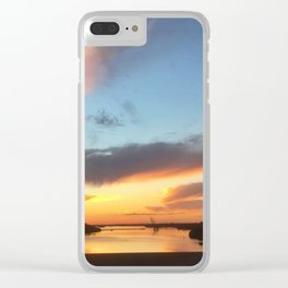 South Jersey Parkway Skies Clear iPhone Case