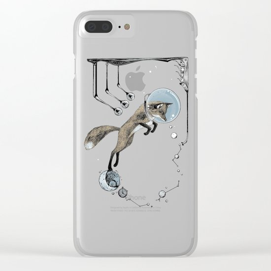 Relativity Fox Trot Clear iPhone Case