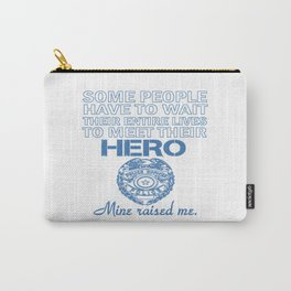 POLICE OFFICER'S DAUGHTER Carry-All Pouch