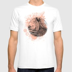 Old Tree Mens Fitted Tee White MEDIUM