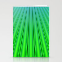 pocket fuel Stationery Cards featuring Fuel Rods by Lyle Hatch