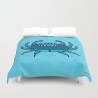 cancer Duvet Covers featuring Cancer by Giuseppe Lentini