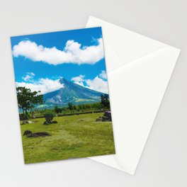 Mayon Volcano Stationery Cards