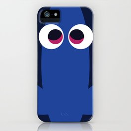 PIXAR CHARACTER POSTER - Dory - Finding Nemo iPhone Case