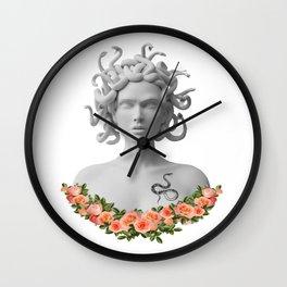 Medusa Gorgon Greek Mythology Wall Clock