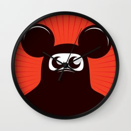 Niqab mouse Wall Clock